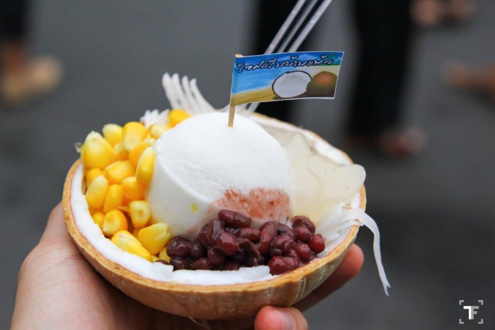 Coconut Ice Cream Chatuchak Market